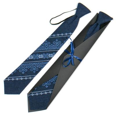 Підліткова вишита краватка №787