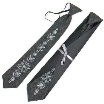 Підліткова вишита краватка №788