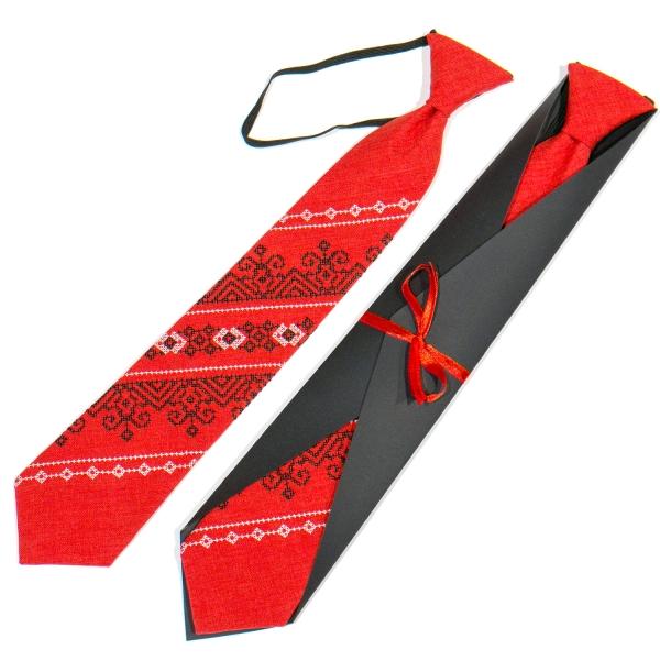 Підліткова вишита краватка №790