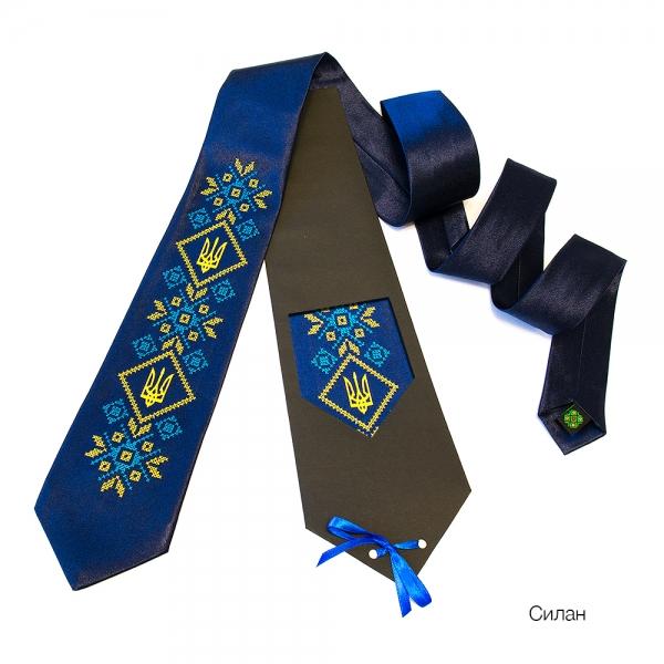 Краватка з вишивкою Силан