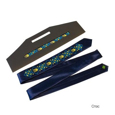 Краватка з вишивкою Спас