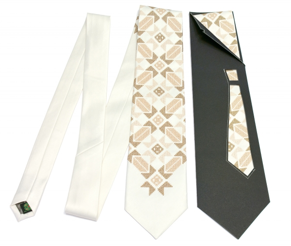 Краватка з вишивкою Святослав