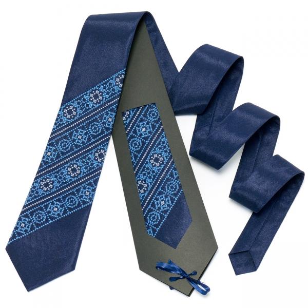 Синя краватка №609