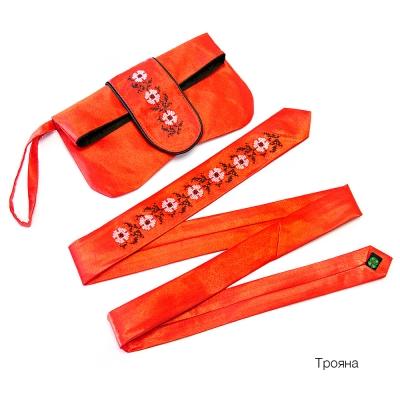 Клатч з галстуком Трояна