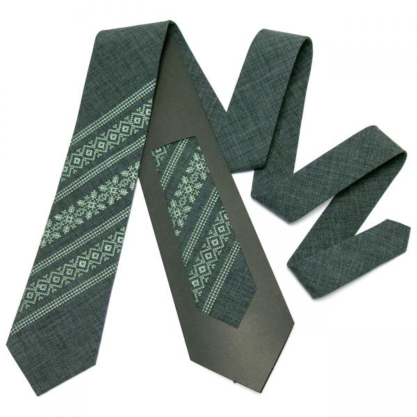 Модна вишита краватка №663