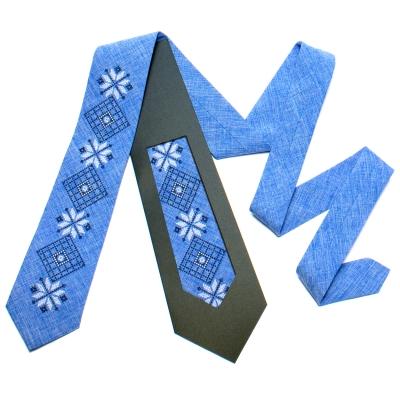 Вишита краватка №733