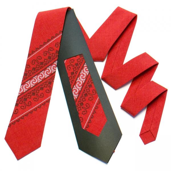 Вишита краватка №735