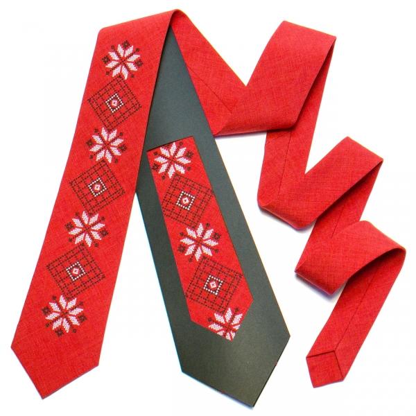 Вишита краватка №736