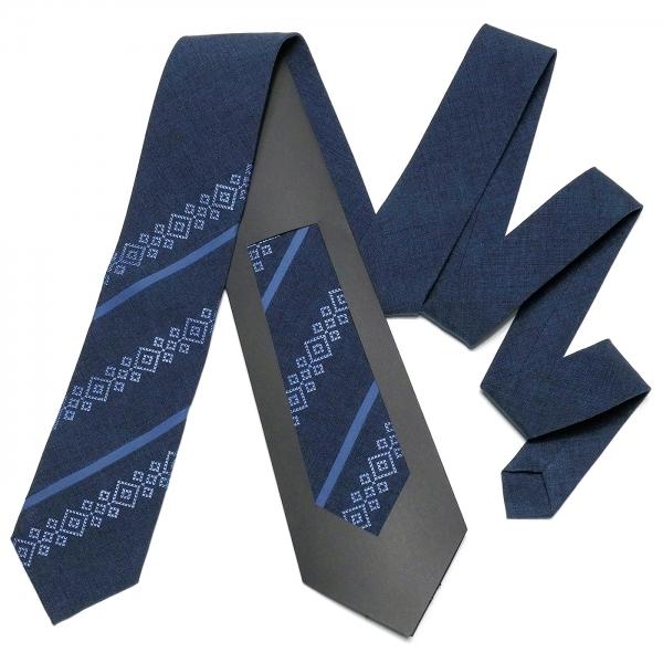 Оригінальна вишита краватка №755