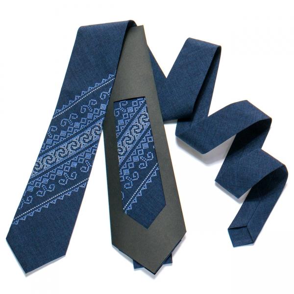Вишита краватка №722