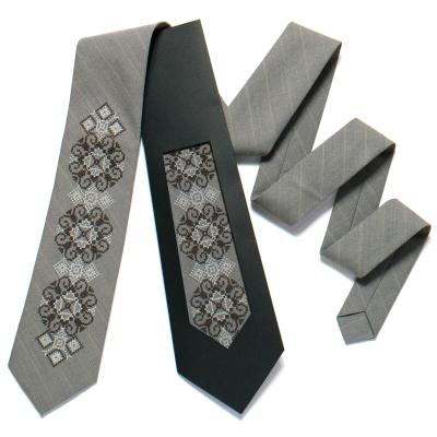 Вишита краватка №723