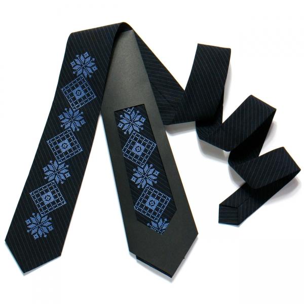 Вишита краватка №727