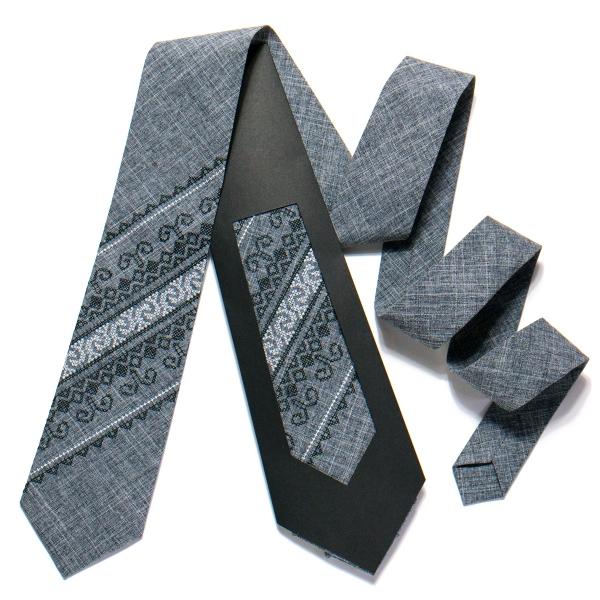 Вишита краватка №728