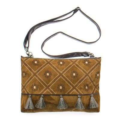 Вишита сумка на плече або зап'ястя №876