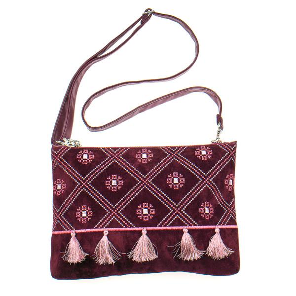 Вишита сумка на плече або зап'ястя №878