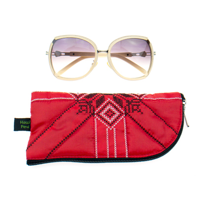 Вишитий чохол для окулярів №914