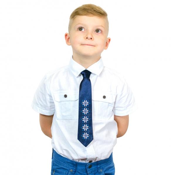 Дитячий галстук з вишивкою Яр